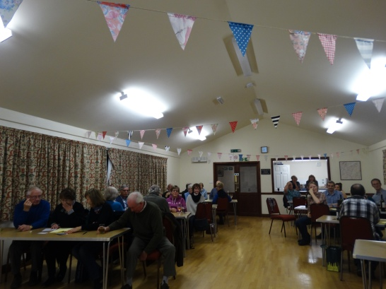 Village Hall Quiz - on your marks....